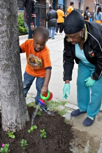 Flower-Bed-Stuy (Boy watering plant)