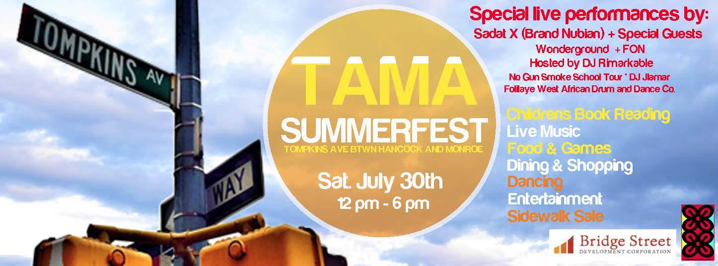 TAMA Summerfest 2016!